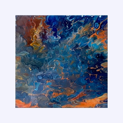 Elune - Tablou canvas abstract